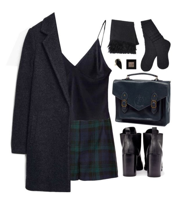 """""""Are we obsidian?"""" by nandim ❤ liked on Polyvore featuring Topshop, Cheap Monday, NOVICA, UGG and Bobbi Brown Cosmetics"""