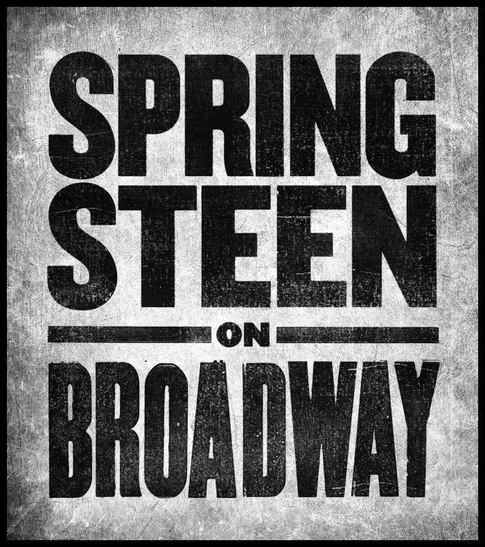 'Springsteen On Broadway' extended through June 2018 » Bruce Springsteen
