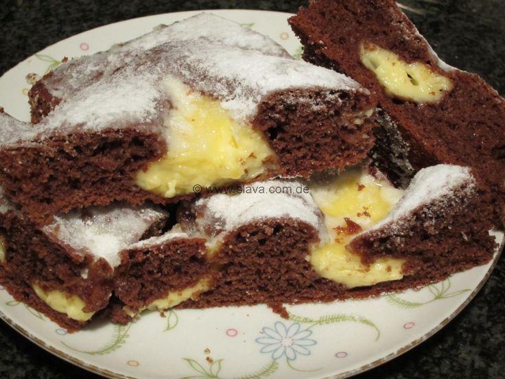 schneller Schoko-Pudding-Kleckskuchen