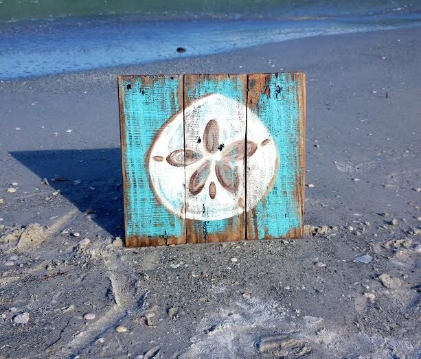 Nautical Nursery Sign Sand Dollar Sign Pallet Sign Personlized Sign Beach Sign by MermaidByHandDesigns on Etsy https://www.etsy.com/listing/238548684/nautical-nursery-sign-sand-dollar-sign
