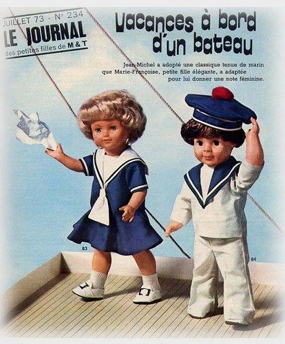 modes et travaux, françoise, marie-françoise, jean-michel, michel, petitcollin
