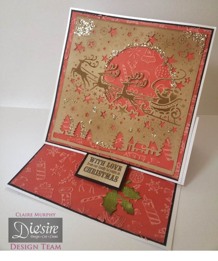 Crafter's Companion Create a Card Die Over the Rooftops
