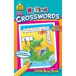 My First Little Busy Book-Crosswords by School Zone. $3.60. 2739. School Zone. 076645027399. Brand New Item / Unopened Product. SCHOOL ZONE-My First Little Busy Book: Crosswords. This Little Busy Book delivers 48 creative puzzles for on-the-go young learners. Every page is a perfectly-sized confidence-boosting game. These crosswords enhance children's knowledge of synonyms; positional words; and homophones. This handy practice reinforces reading and language skills...