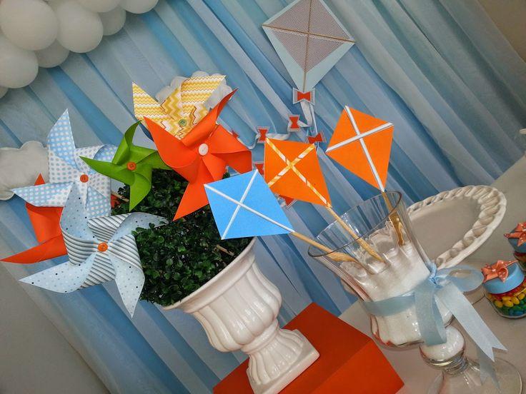Momento Único Aluguel de peças para Festas Infantis e Demais.: Pipas e Cataventos