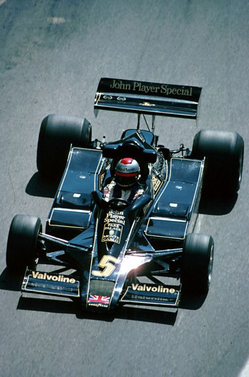 Mario Andretti Lotus   Ford Monaco 1978
