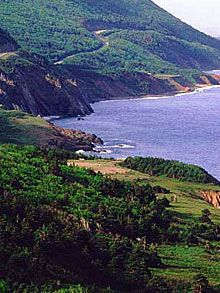 The beautiful Cabot Trail is a 950 Km trail through the Cape Breton Highlands. Named for famous explorer John Cabot, the Cabot Trail winds around the rocky splendour of Cape Breton's northern shore, ascending to the incredible plateaus of Cape Breton Highlands National Park.