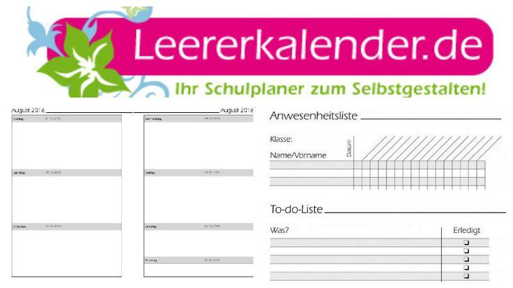 Unser neues Kalendarium bietet richtig vieeeel Platz für all eure Notizen. Zudem neu bei Leererkalender.de: eine praktische To-do-Liste damit auch nichts vergesen wird und eine hilfreiche Anwesenheitsliste für den besseren Überblick!