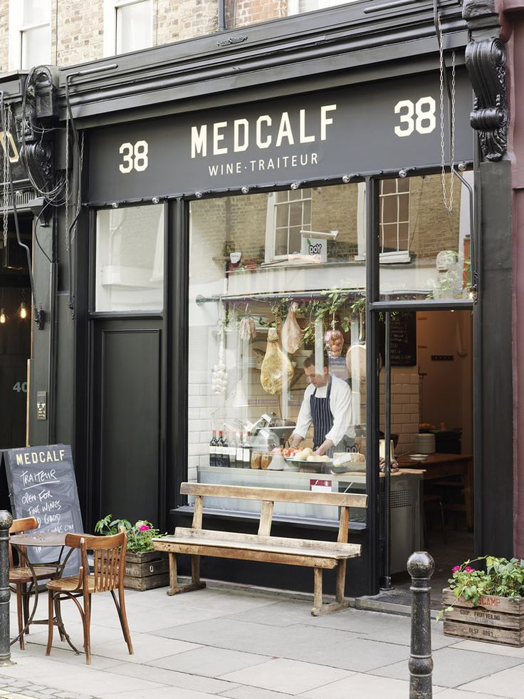 Exmouth Market darling Medcalf transforms former gallery into celebration of the uncomplicated... http://www.we-heart.com/2015/03/20/medcalf-traiteur-london-exmouth-market/