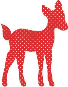 deer applique pattern free - Google Search