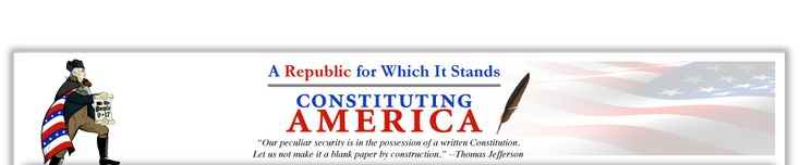 CONSTITUTING AMERICA'S MISSION  is to utilize the culture and multi-media outreach such as music, film, internet, and social media to reach, educate and inform America's adults and students about the importance of the U.S. Constitution and the foundation it sets forth regarding our freedoms and rights. We feature a contest for kids, academic forums with Constitutional Scholars, Patriot Clubs, and National Youth Director Juliette Turner's Youth Blog & Constitutional Fun Fact Essays for Kids.