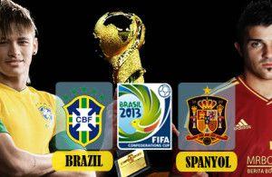 Kali ini Agen Judi Bola Cobabet akan mengulas informasi mengenai Prediksi Skor Brazil Vs Spanyol 1 Jul 2013 pada laga Final kejuaran Piala konfederasi yang akan digelar pekan ini. Source :http://www.cobabet.org/berita/berita-bola/prediksi-skor-brazil-vs-spanyol-1-jul-2013