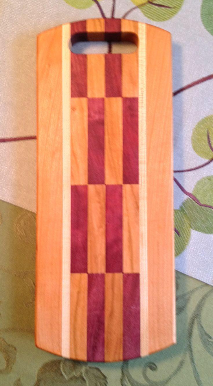 Wood Species: Cherry, Maple, Purpleheart
