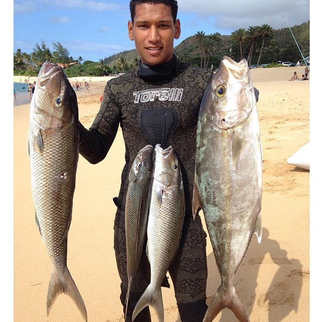 Went to go check out my uku spot and got me my biggest for Fishing spots oahu