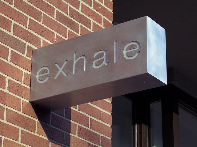 Lighted Blade sign for business | Flickr - Photo Sharing!