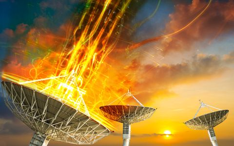 """this may surprise a lot of astronomers They have only ever detected a few of these types of signals. And apparently this one is changing the scientific modeling of a lot of astronomy departments. Basically an FRB is a fast radio burst. They still do not know for sure where they come from but the<a href=""""http://www.shockingscience.com/mysterious-space-signal-indicates-missing-matter-in-the-visible-universe/"""" title=""""Read more"""" >...</a>"""