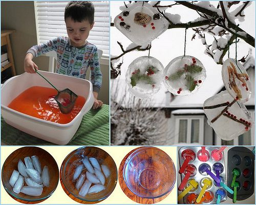 So many ways to play with ice! @Cathy James @ NurtureStore