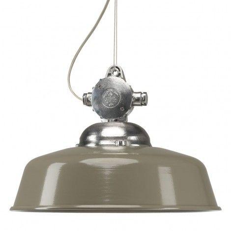 Hanglamp Detroit Retro & Vintage Taupe/Bruin, 300 euro