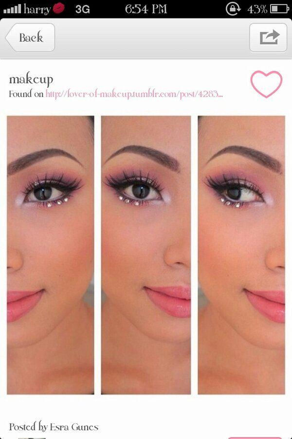 Fairy Makeup as far as Im concerned. Too cute!