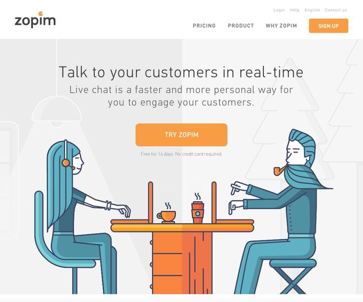 Zopim Live Chat Service