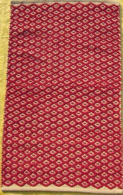 Its cotton handmade rugs from Ivory Fine rugs India.  Imtiyaz Ansari   ivory2008@sify.com