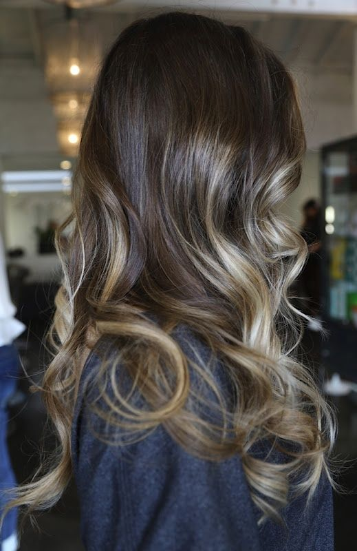 love this hair color & blonde highlights