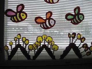Kuvis ja askartelu: Kynttelikkö -ikkunakoriste
