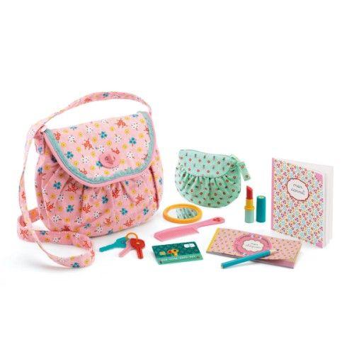 sac main avec accessoires djeco pour enfant de 4 ans 8 ans oxybul veil et jeux no l
