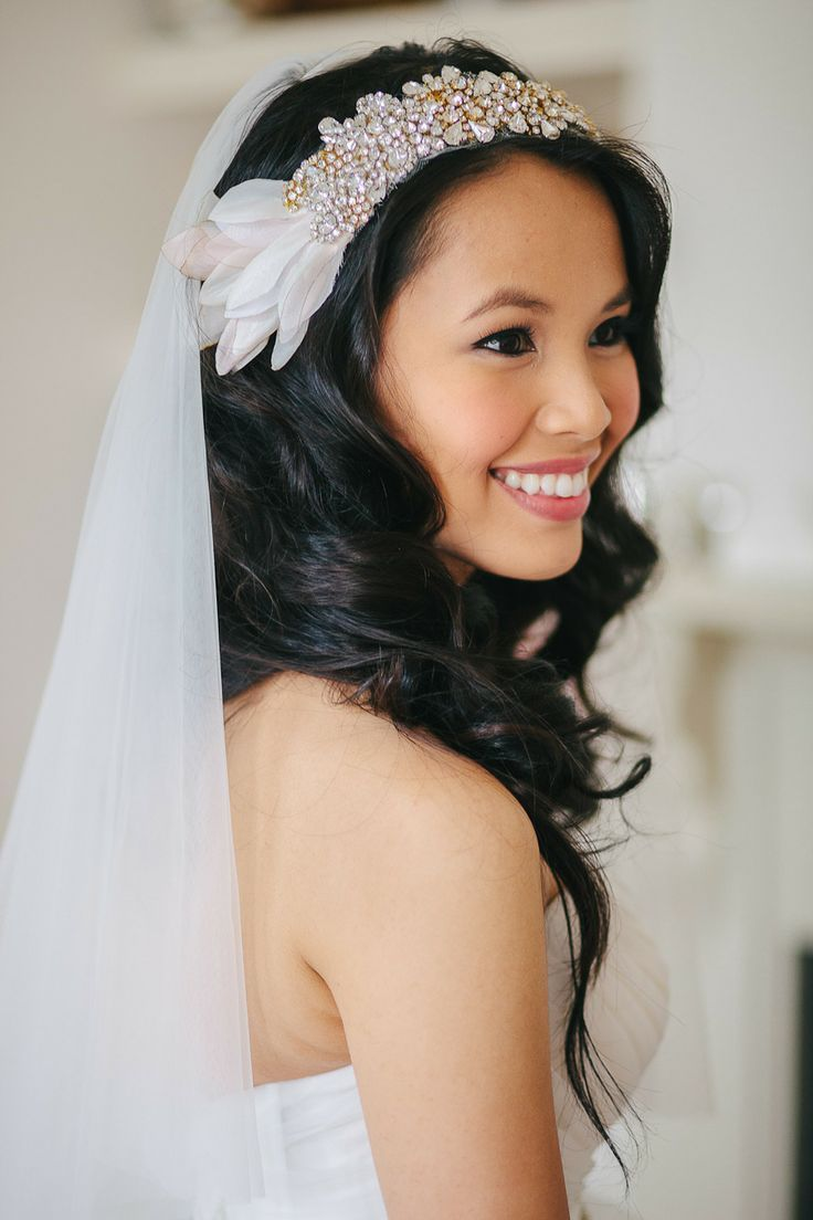 123 best Hairstyles + Veils & Headpieces images on Pinterest ...