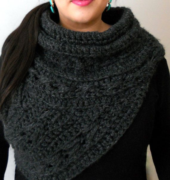 404 best images about Crocheted Scarves, Cowls, and Wraps ...