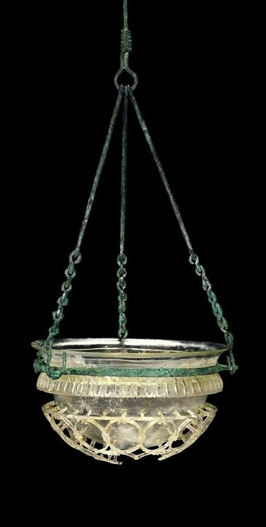Roman Glass: Cage Cup, about 300 | Corning Museum of Glass