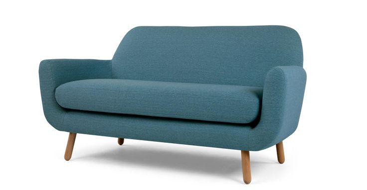 Jonah 2-Sitzer-Sofa, Marineblau | made.com