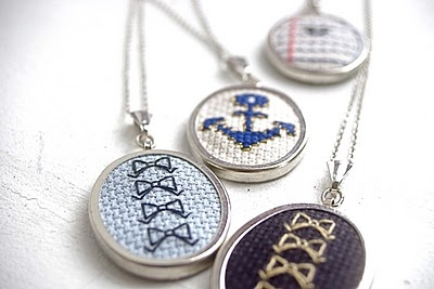 tiny cross-stitch