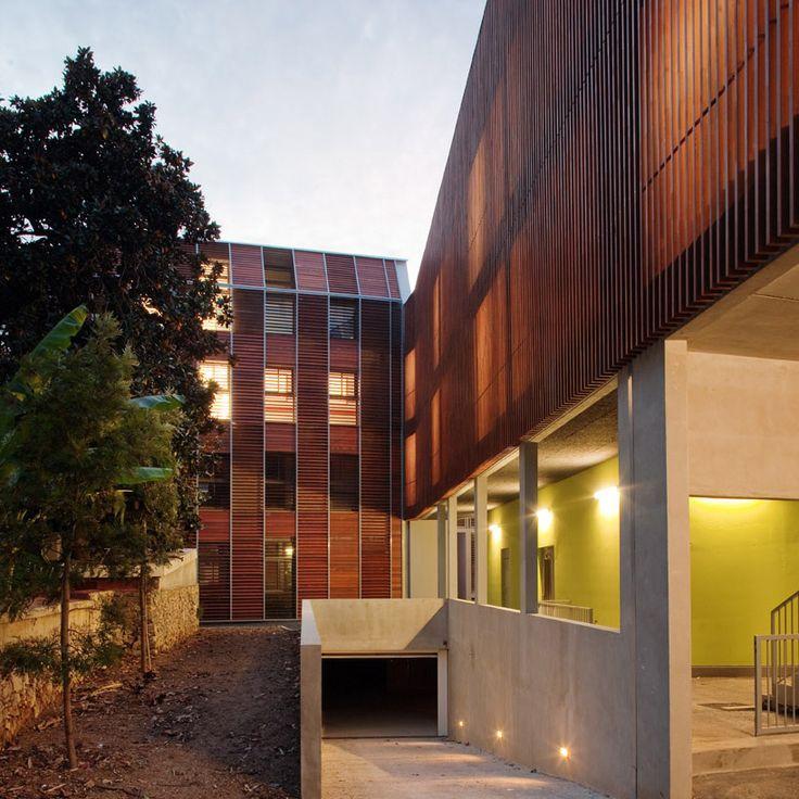 High School Paul Valery by NBJ Architectes in Menton, France