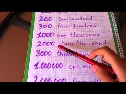 Aprender inglés: Números en inglés - Consejos para aprenderse los números en inglés - YouTube