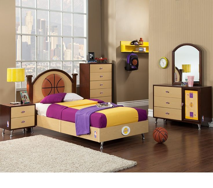 lakers bed set