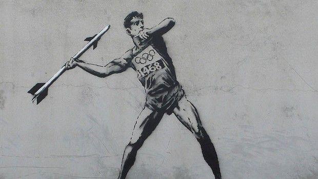 London Street Art + Olympics = Tragic Destruction