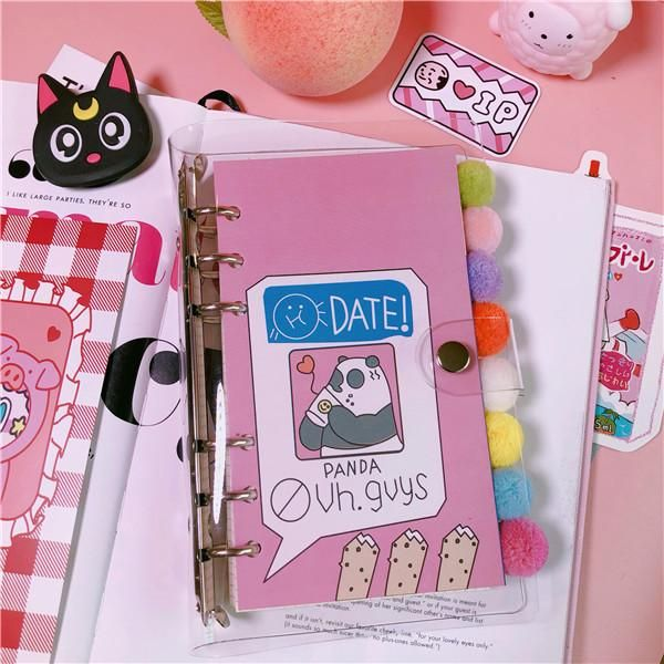 Out Cover Size 140 200mm Inside 130 190mm About 100 Pages 1 Pcs Cute Notebooks Notebook Cover Design Vintage Cartoon