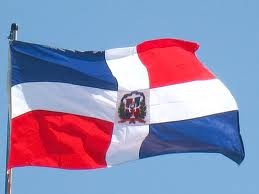 Bandera de Republica Dominicana - Flag of Dominican Republic