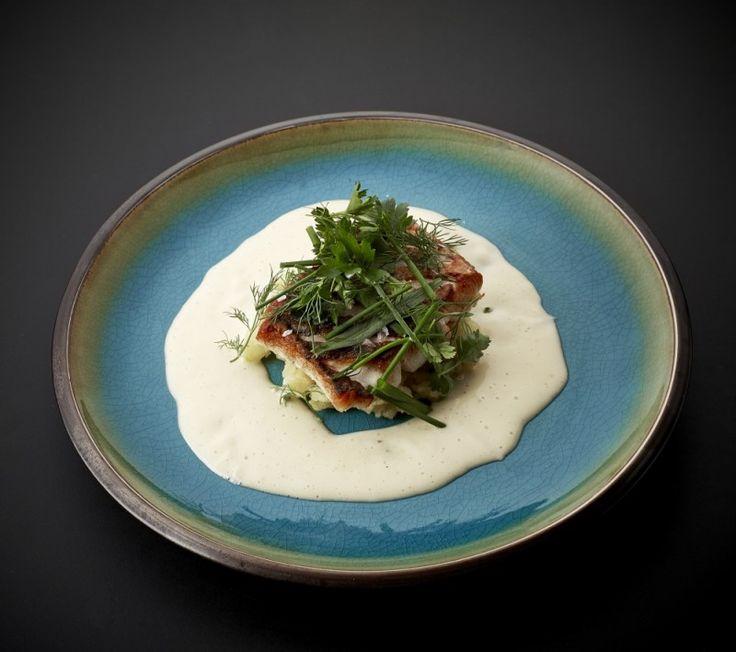 skagen fisk med beurre blanc og kartoffelkompot
