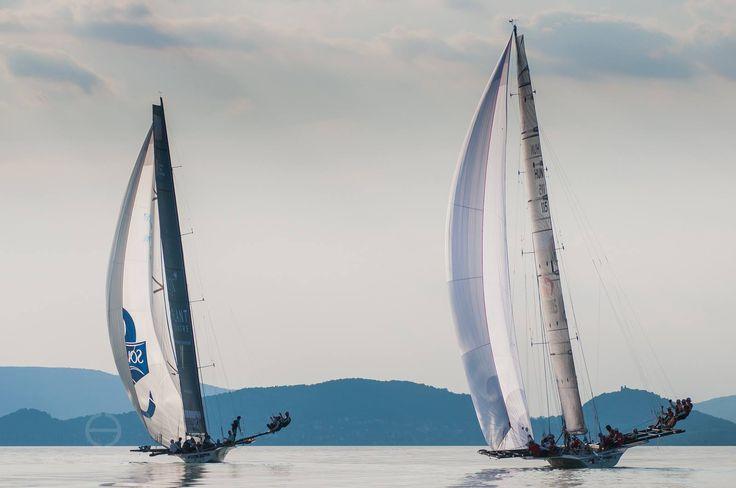 Lake Balaton, sailing, Kék szalag