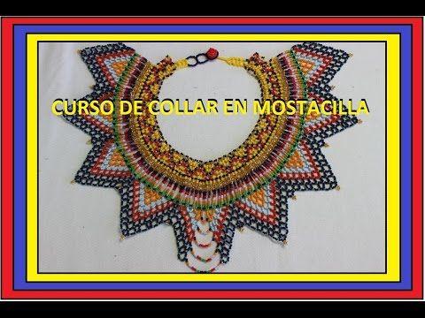 CURSO DE COLLAR EN MOSTACILLA//PARTE UNO - YouTube