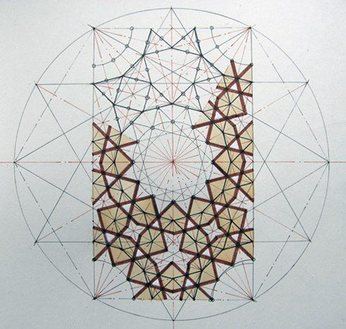 Islamic geometric art