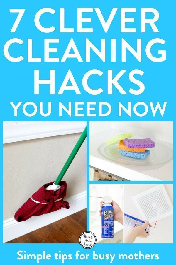 7 Clever Cleaning Hacks You Need For Your Home House Cleaning Tips Cleaning Hacks Cleaning Household