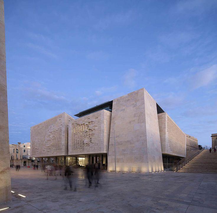 'Puerta de la ciudad', Renzo Piano en La Valeta (Malta) - Arquitectura Viva · Revistas de Arquitectura