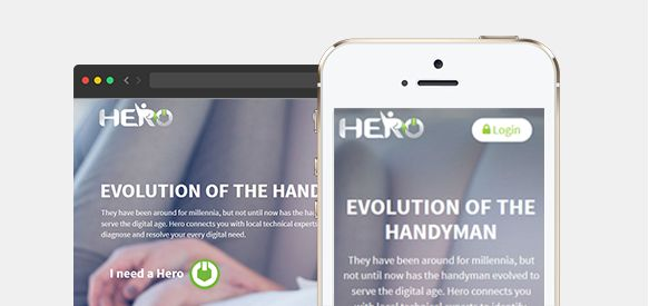 GrabAHero is another WebRTC website that connects users online with digital experts locally who help them in identifying, diagnosing and resolving their technical issues. It's like having your handyman right in front of you, but through GrabAHero.com who have friendly technical professionals ready to help you.