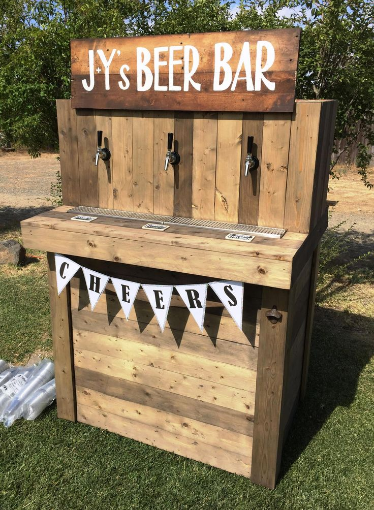 50 diy pallet ideas that can improve your home beer bar for 50 wood pallet projects