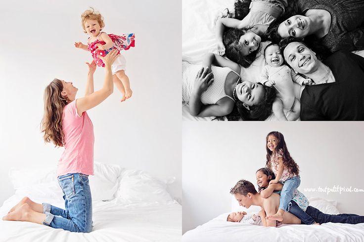 photos enfant famille studio