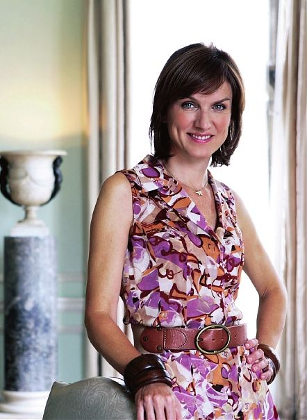 Fiona Bruce, one of the most established presenters working in television today