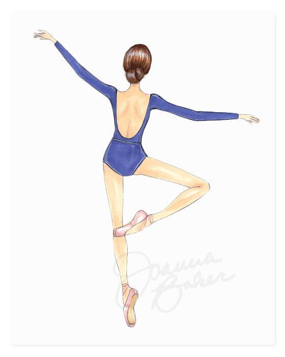 how to draw a dancer step by step easy