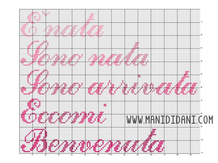 4268 best bambini images on pinterest cross stitch baby for Punto croce bambini nascita